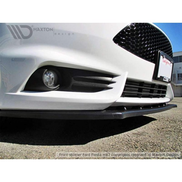 Lame pare choc avant Fiesta ST Mk7 Ph.2
