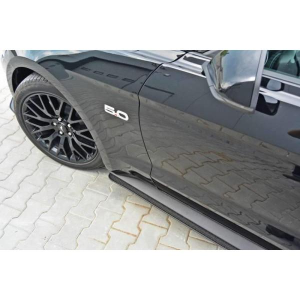 Rajouts bas de caisse Racing Mustang GT MK6