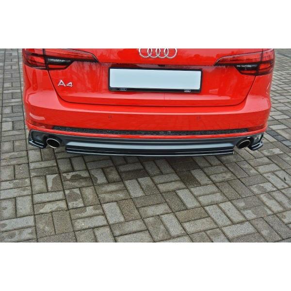 Splitter Arriere Central Audi A4 B9 S-Line