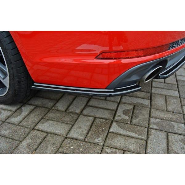 Rajout, splitter pare-chocs Arriere Audi A4 B9 S-Line