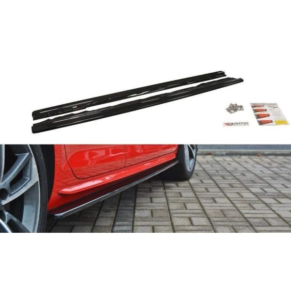 Paire de Diffuseurs Bas de Caisse Audi A4 B9 S-Line