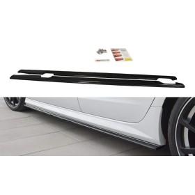 Paire de Diffuseurs Bas de CaisseAudi A6 C7 S-Line, S6 C7 Facelift