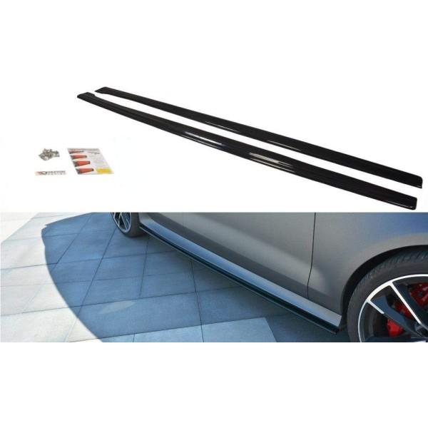 Paire de Diffuseurs Bas de Caisse Audi Rs7 Facelift