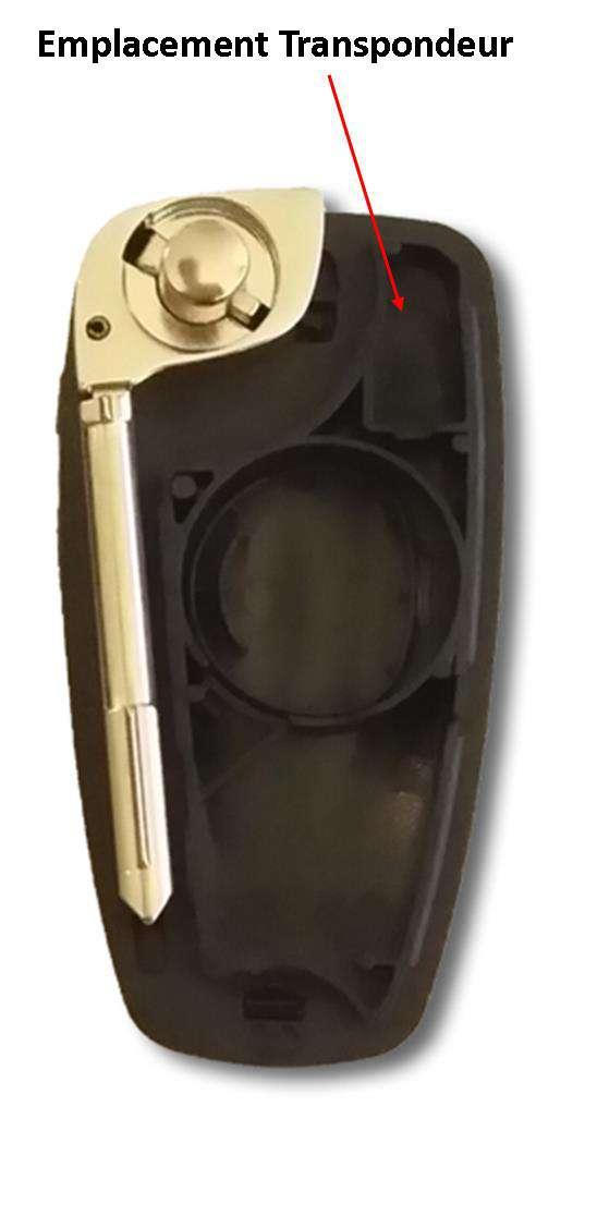 Emplacement transpondeur cle plip ford focus
