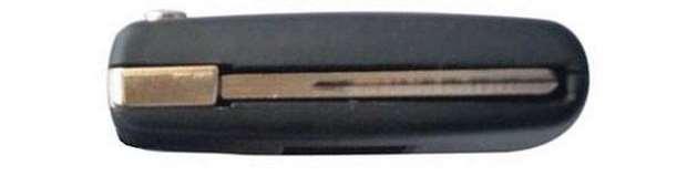 Coque de clé lame rainurée HU83