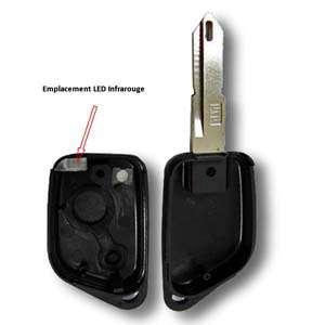 Boitier de clé infrarouge