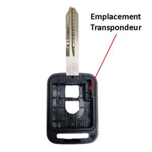 Transpondeur clé Nissan